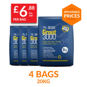 Grout 3000 4 pack at Trade Monkey